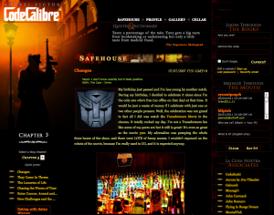 CodeCalibre website