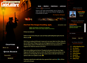 CodeCalibre WordPress Theme